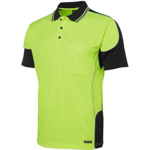 JB's Hi Vis 4602.1 Contrast Piping Polo Thumbnail