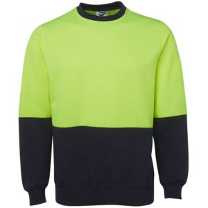 Blue Whale Hi Vis Fleecy Sweat Thumbnail