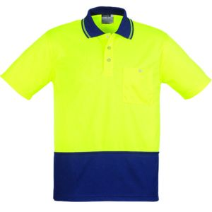 Hi Vis Spliced Polo Thumbnail