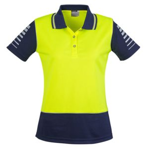 Syzmik Womens Hi Vis Zone Polo Thumbnail