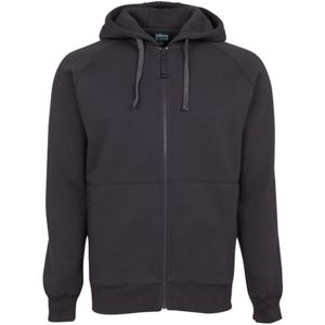 Adults Full Zip Fleecy Hoodie Thumbnail