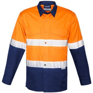 Drill Cotton Ripstop Cooling Taped Hi Vis Shirt Thumbnail
