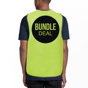 Hi Vis 10 Safety Vest bundle Thumbnail