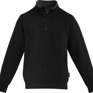 Mens 1/4 Zip Brushed Fleece  Thumbnail