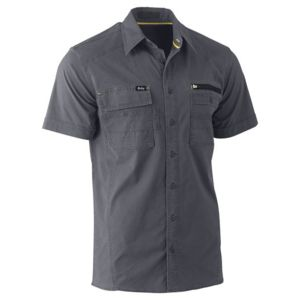 Bisley Utilty Short Sleeve Shirt Thumbnail
