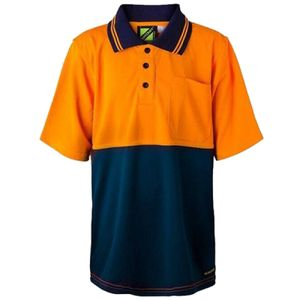 Workcraft Kids' Hi Vis Polo Thumbnail