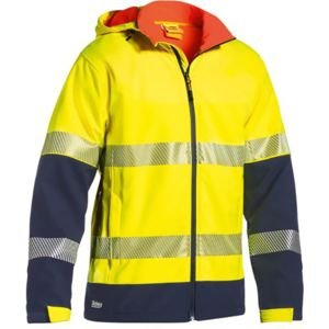 Bisley 3M Taped Hi Vis Ripstop Soft Shell Jacket Thumbnail