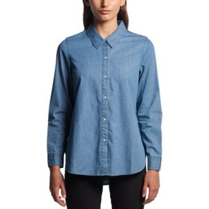 AS Colour 4042 Womens Blue Denim Shirt Thumbnail