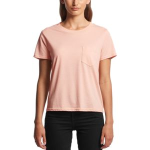AS Colour 4046 Womens Square Pocket Tee Thumbnail