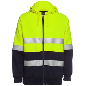 JB's Hi Vis Zip Fleecy Jumper Taped Thumbnail